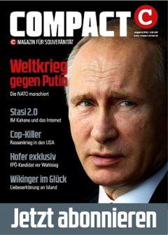 COMPACT MAGAZIN - die aktuelle Ausgabe
